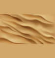 sand background top view desert or beach texture vector image vector image