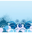 stylish blue banner vector illustration vector image vector image