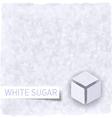 Sugar background vector image