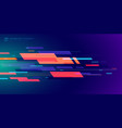template banner abstract technology futuristic