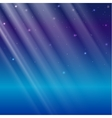 Abstract light overlay effect on blue background vector image vector image