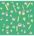 Background flat icon vector image vector image