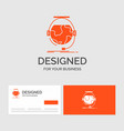 business logo template for consultation education vector image