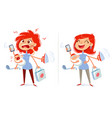 multitasking mom and housewife vector image