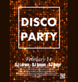 party poster background vector image vector image