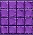 seamless texture purple square stone vector image vector image