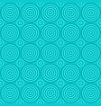 simple repeating pattern - circle background vector image vector image
