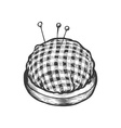 Pin Cushion vector image