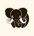 african safari elephant logo vector image vector image