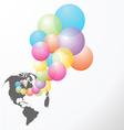 baloon vector image vector image