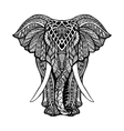 decorative elephant vector image