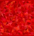 irregular triangle tiled mosaic background vector image vector image