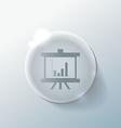 presentation graphics Business icon vector image