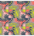 Seamless colorful abstract mod pattern vector image
