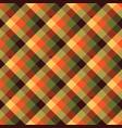 tartan fall seamless pattern plaid vector image vector image