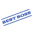 Best Boss Watermark Stamp vector image
