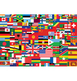 flags background vector image vector image