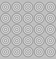 geometrical seamless pattern - circle background vector image vector image