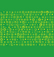 green dots texture vector image vector image
