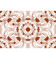 mandala seamless pattern arabic boho style vector image vector image