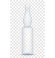 medical ampoule for injection stock vector image vector image