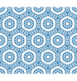 Seamless ornamental oriental pattern vector image vector image