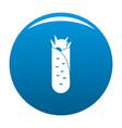 shawarma icon blue vector image vector image