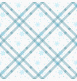 white snowflakes seamless pattern winter holidays vector image