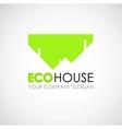 Eco house logo design Ecological construction