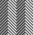 Geometrical pattern with gray and black zigzag vector image vector image