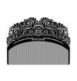 Ornate Comb vector image