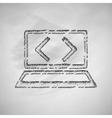 programming icon vector image vector image