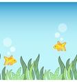 Underwater Game Background vector image