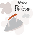 Wrinkle Be-Gone vector image vector image