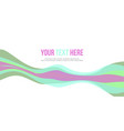 abstract header website design style vector image vector image