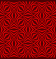 art abstract geometric dark red romb pattern vector image vector image