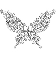 art butterfly vector image vector image