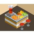 Bar juice vector image