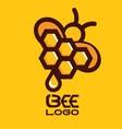 BEE LOGO 7 vector image
