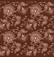 flower seamless pattern background vector image vector image