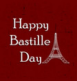 france national day bastille vector image