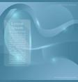 template brochuresoft dynamic line concept vector image vector image