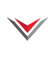 V Letter Logo Business professional logo template vector image vector image