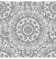 Vintage ornament seamless pattern vector image vector image