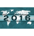 Global celebration of new year vector image vector image