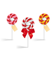 Lollipop collection vector image
