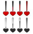love-meter vector image