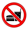 No Food Allowed Symbol Prohibition Sign