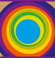 circles with varied colour vector image vector image