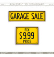 garage sale vector image